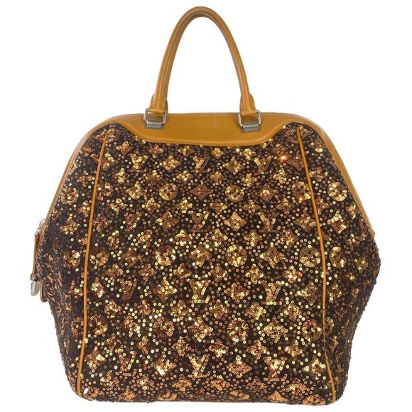 Louis Vuitton North South Sunshine Sequin Bag